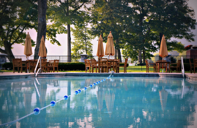 Outdoor pool at The Cooper Inn.