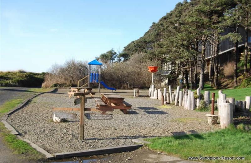 Playground at Sandpiper Beach Resort.