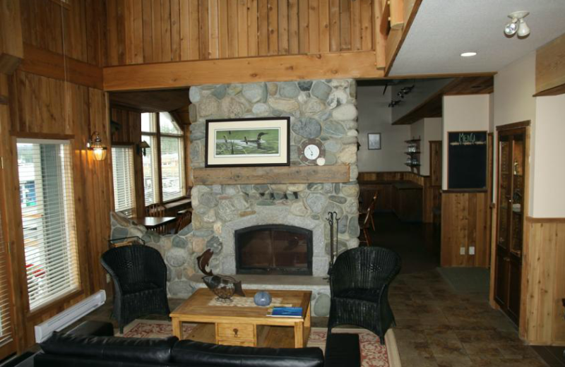 Interior view at Shearwater Resort & Marina.