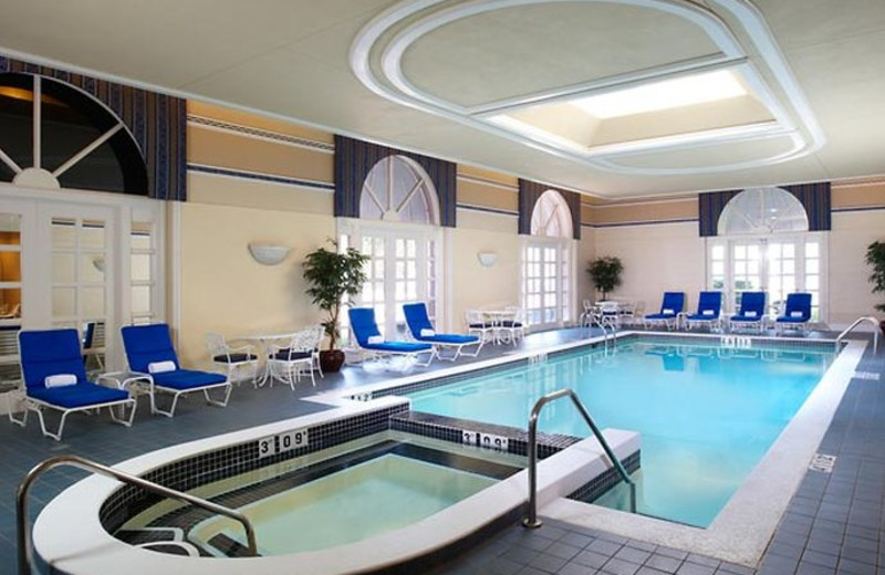 Indoor pool at The Henry Dearborn.
