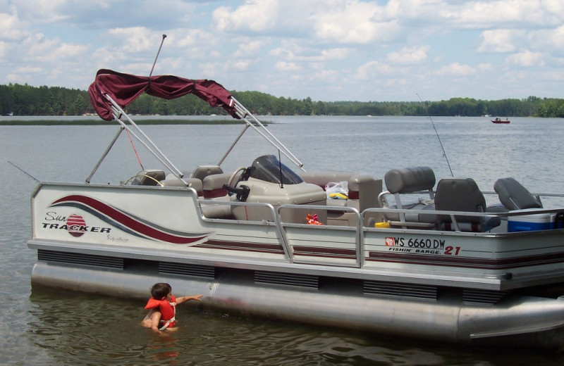 Northwoods vacation rentals st germain wi resort for Wisconsin fishing lodges