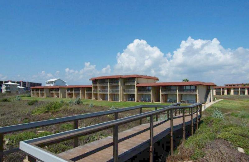 Exterior View of Coral Cay Condominiums