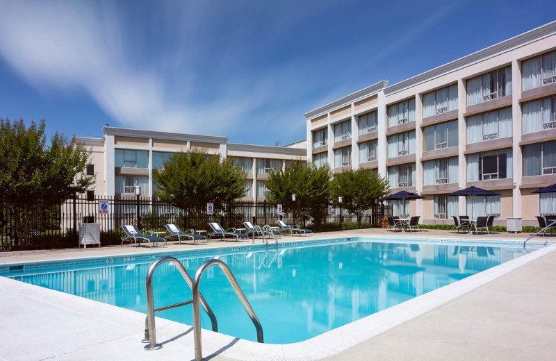 Outdoor pool at Holiday Inn Columbia East-Jessup.