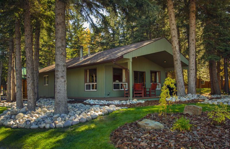Chalet at Overlander Mountain Lodge.