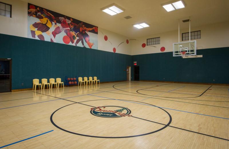 Gym at Stoneridge Resort.