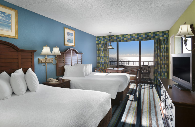 Guest room at The Breakers Resort.