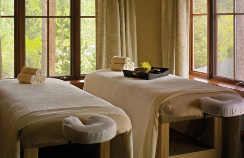 Massage Tables at Hyatt Regency