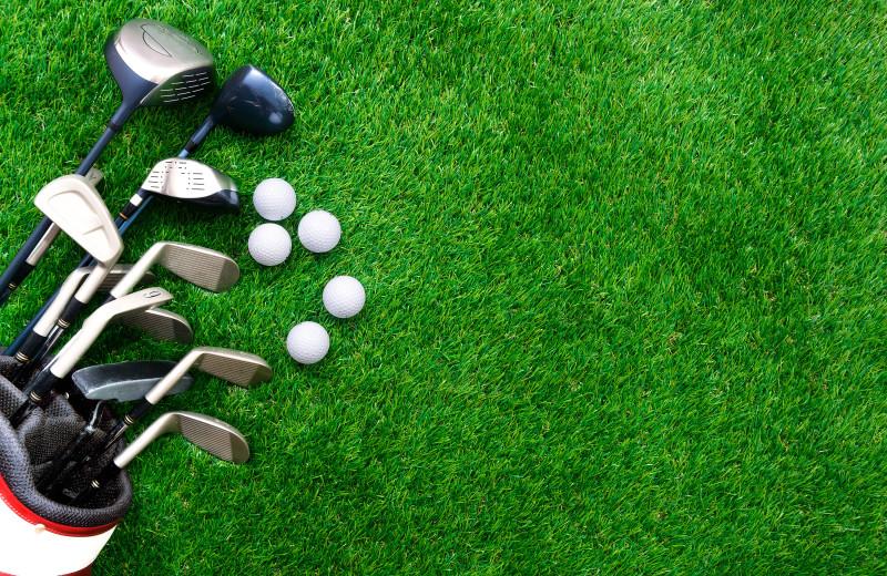 Golf near Birch Grove Resort.