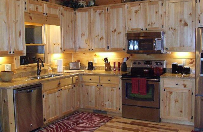 FULLY EQUIPPED KITCHEN AT PEACE OF PARADISE