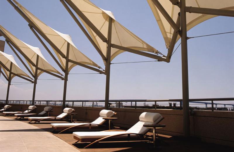 Sail Terrace at Omni San Diego Hotel.
