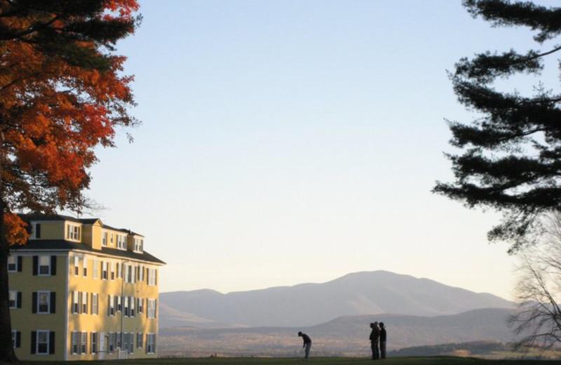 Golfing at Mountain View Grand Resort