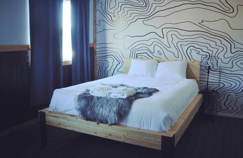 Guest room at Hardscrabble Ranch.
