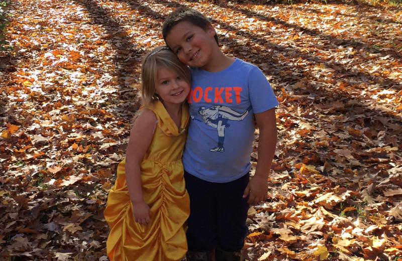 Kids at Mission Springs Resort.
