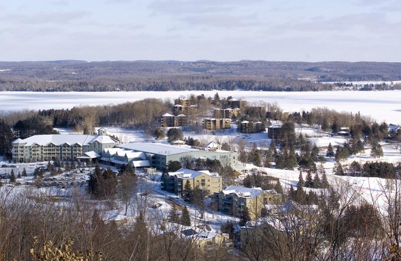 Winter at Deerstalker Resort.