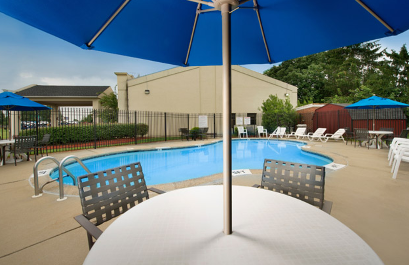 Outdoor Pool at Best Western Historic Frederick
