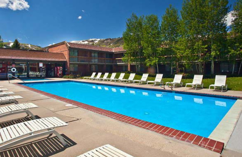 Outdoor pool at The Yarrow Resort Hotel & Conference Center.