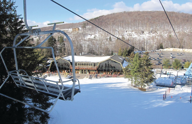 Skiing at Team Vacation Pro Vacation Rentals.