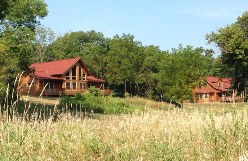 Exterior view of Red Cedar Lodge.