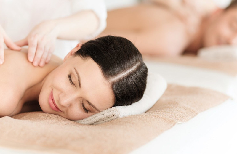 Spa massage at Saybrook Point Inn