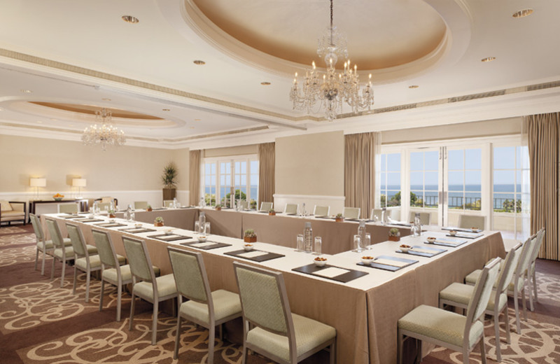 Meeting room at The Ritz-Carlton, Laguna Niguel.
