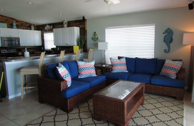 Living Room at Long Key Vacation Rentals