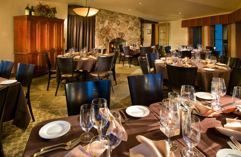 Terra Bistro dining at Vail Mountain Lodge & Spa.