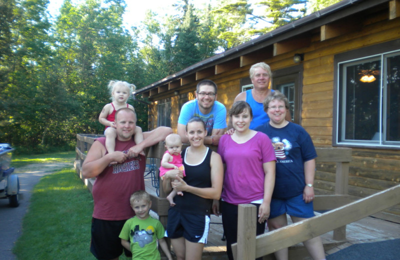 Family at Kokomo Resort.