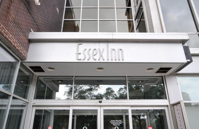 Exterior view of Chicago's Essex Inn.