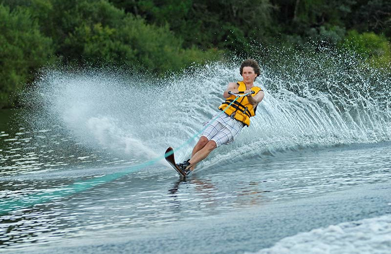 Water ski at Lumina Resort.