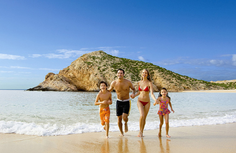 Family fun at Hilton Los Cabos Resort.