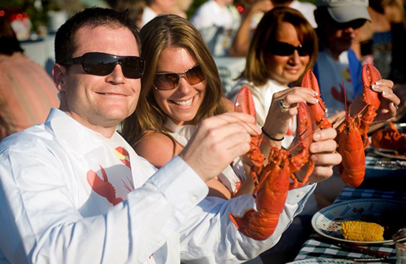 Lobster at Newagen Seaside Inn.