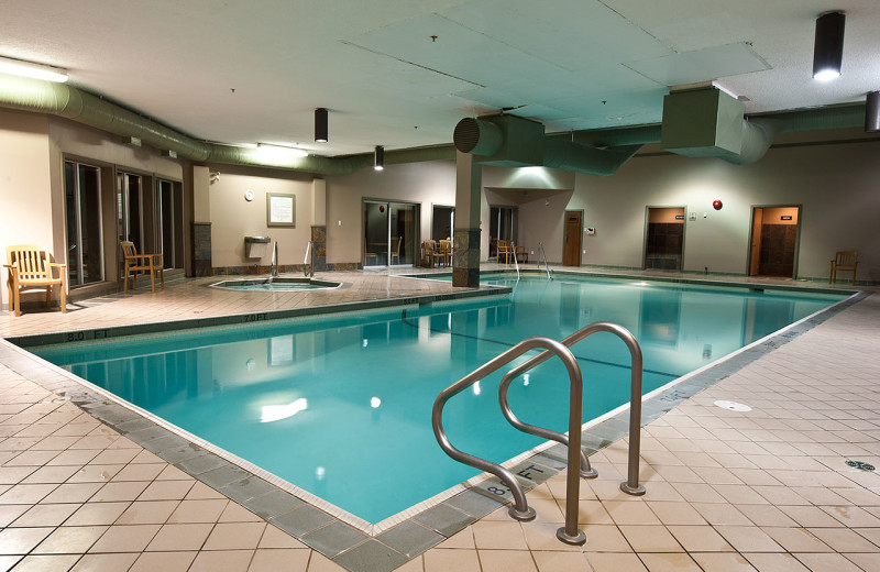 Indoor pool at Pacific Shores Resort & Spa.