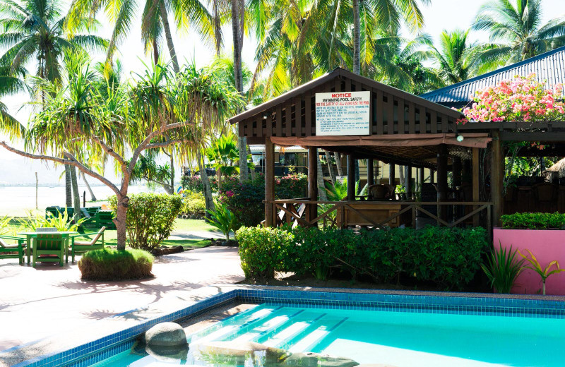 Outdoor pool at Club Fiji Resort.
