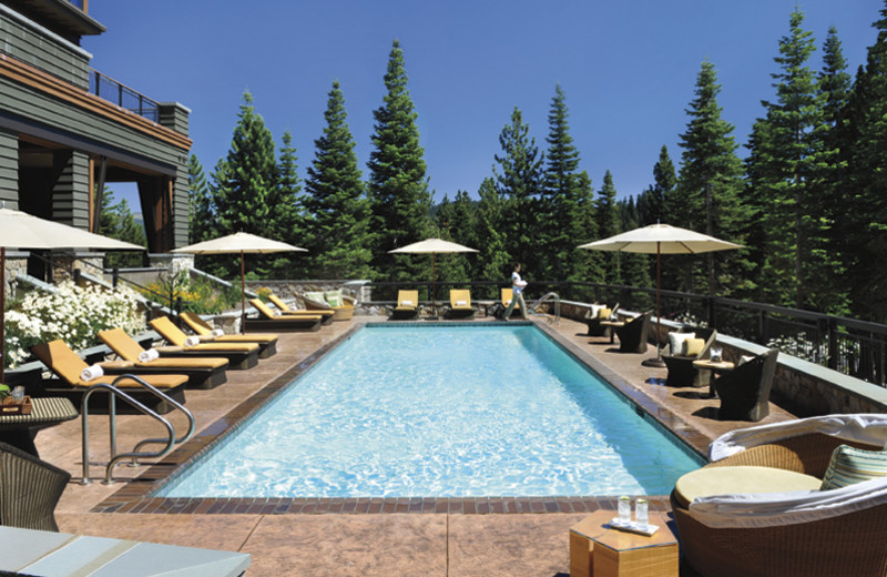 Spa pool at Ritz-Carlton Lake Tahoe.