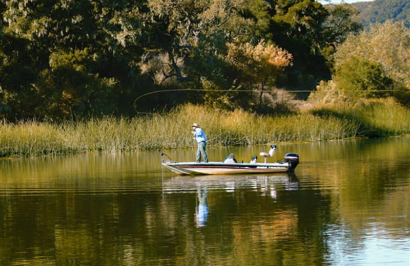 Fishing at Alisal Guest Ranch and Resort.