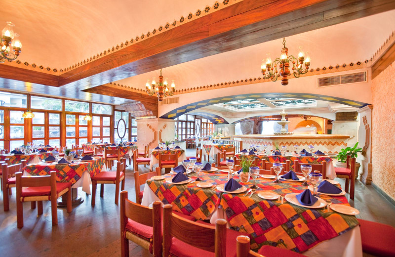 Dining at Castilla Beach Hotel.