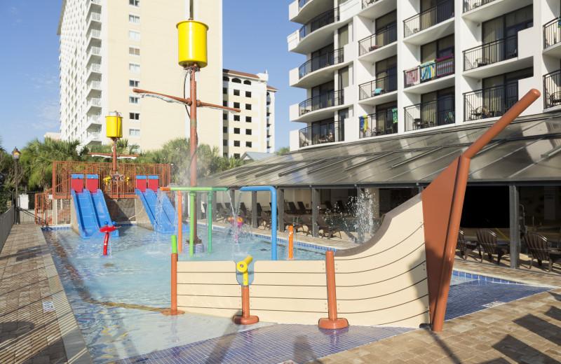 Water park at The Breakers Resort.