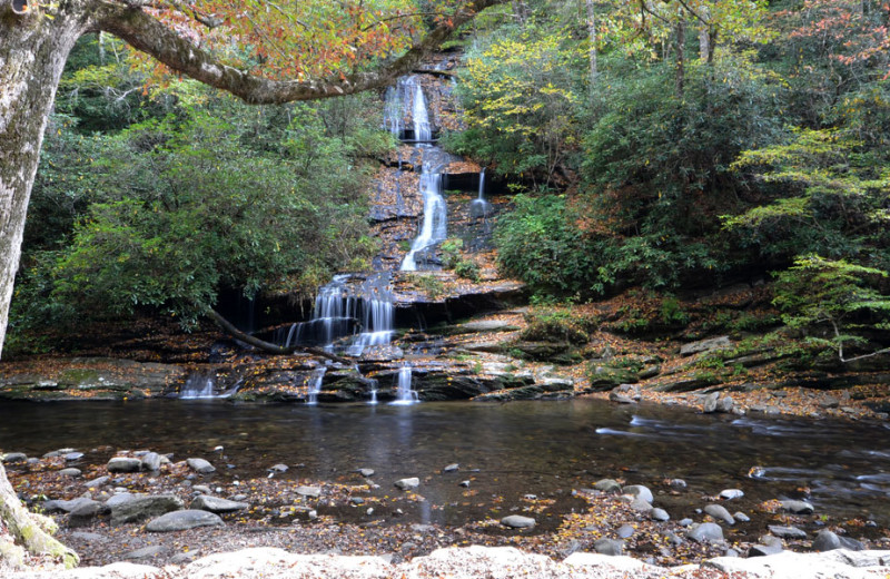 Waterfall near Folkestone Inn B