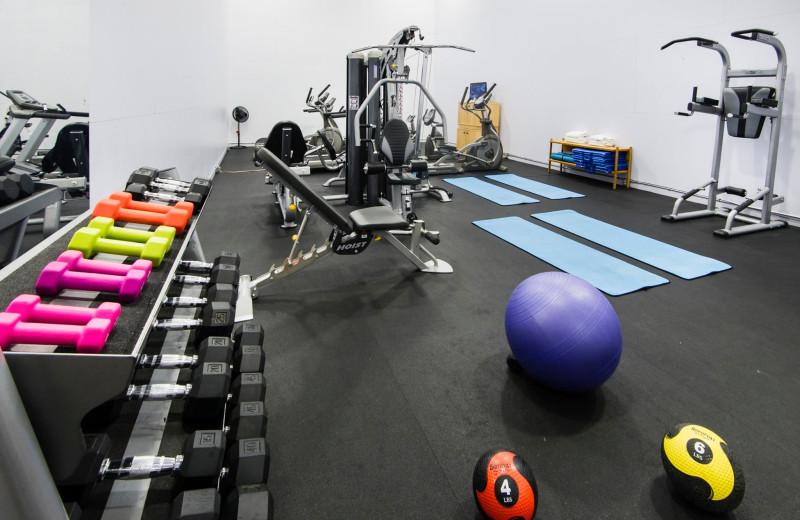 Fitness room at Stoneridge Resort.