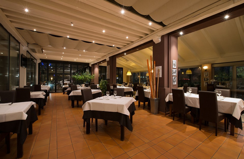 Dining at Villa Ducale Hotel.
