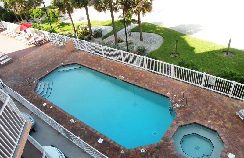 Outdoor pol at Sunsational Beach Rentals. LLC.
