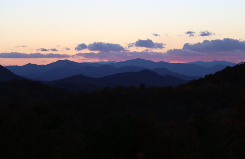 Beautiful views at Rock Creek Cabins