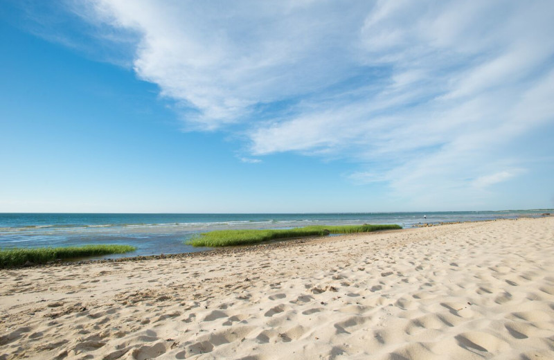 Beach at Ocean Edge Resort & Club on Cape Cod.