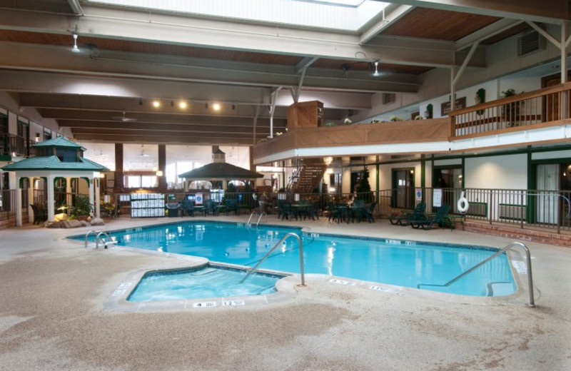 Indoor Pool at Lake Placid Comfort Inn
