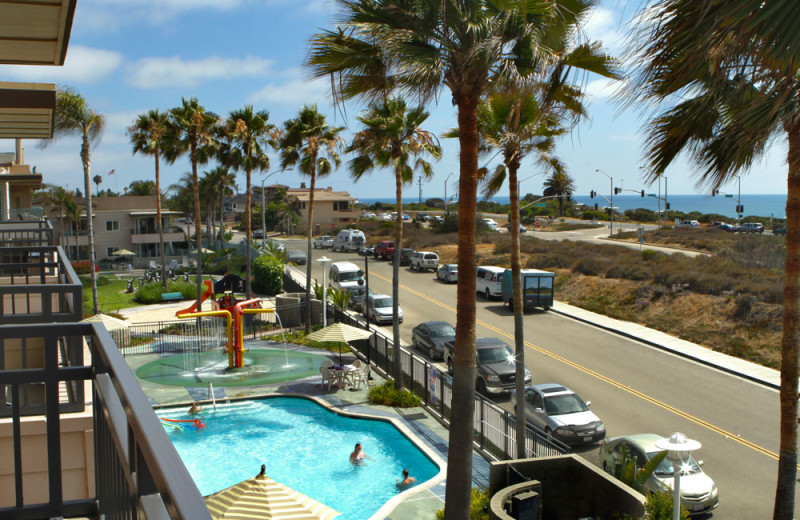 View of Children's Pool from Balcony at the Carlsbad Seapointe Resort