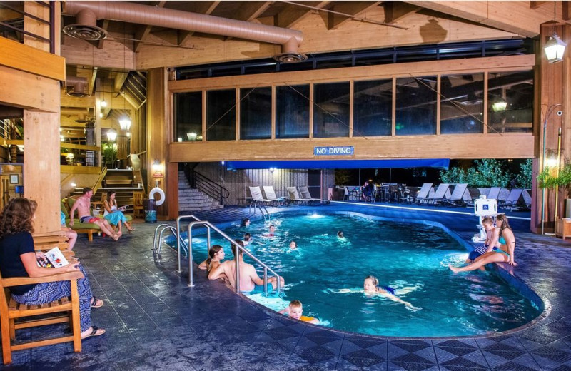 Indoor pool at Beaver Run Resort & Conference Center.