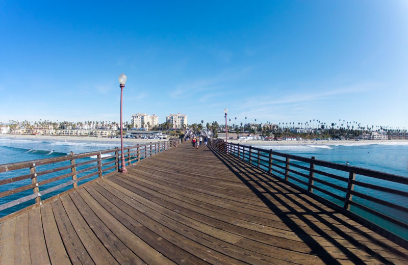 Oceanside Pier in Oceanside, California