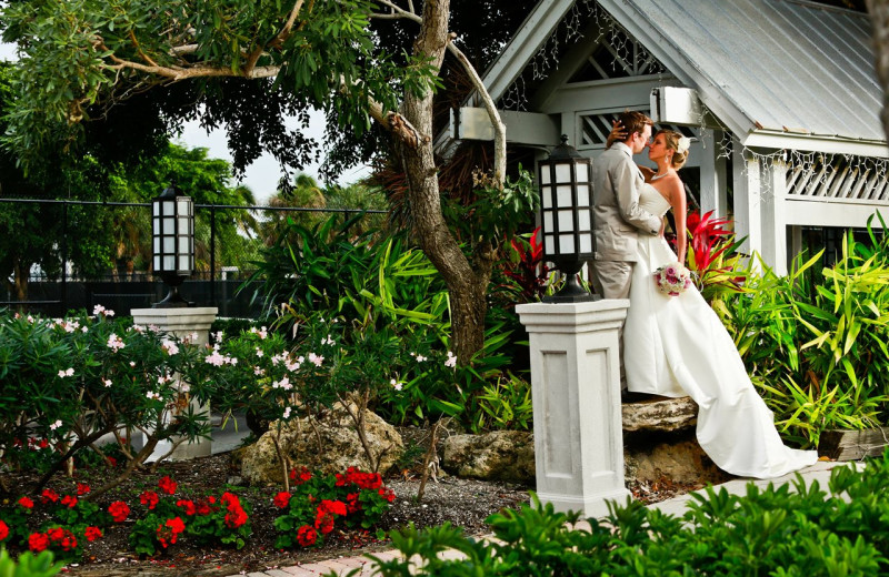 Wedding couple at Casa Ybel Resort.