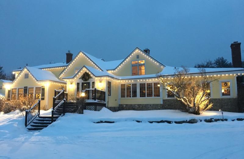 Winter at The Red Clover Inn & Restaurant.