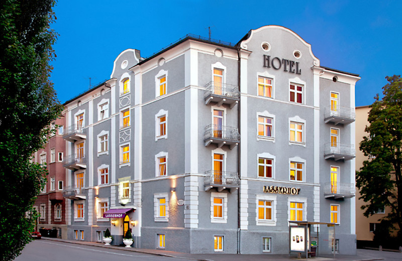 Exterior view of Hotel Lasserhof.